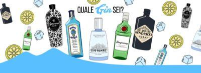 Quale Gin sei? Fai il test ed ordina il tuo Gin a domicilio!